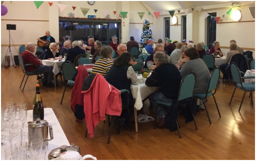 Annual Over 60s Tea Party held on 11th January 2020