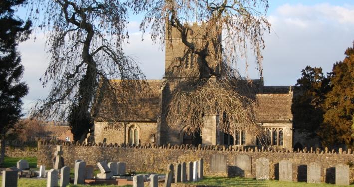 Wanstrow Church south b